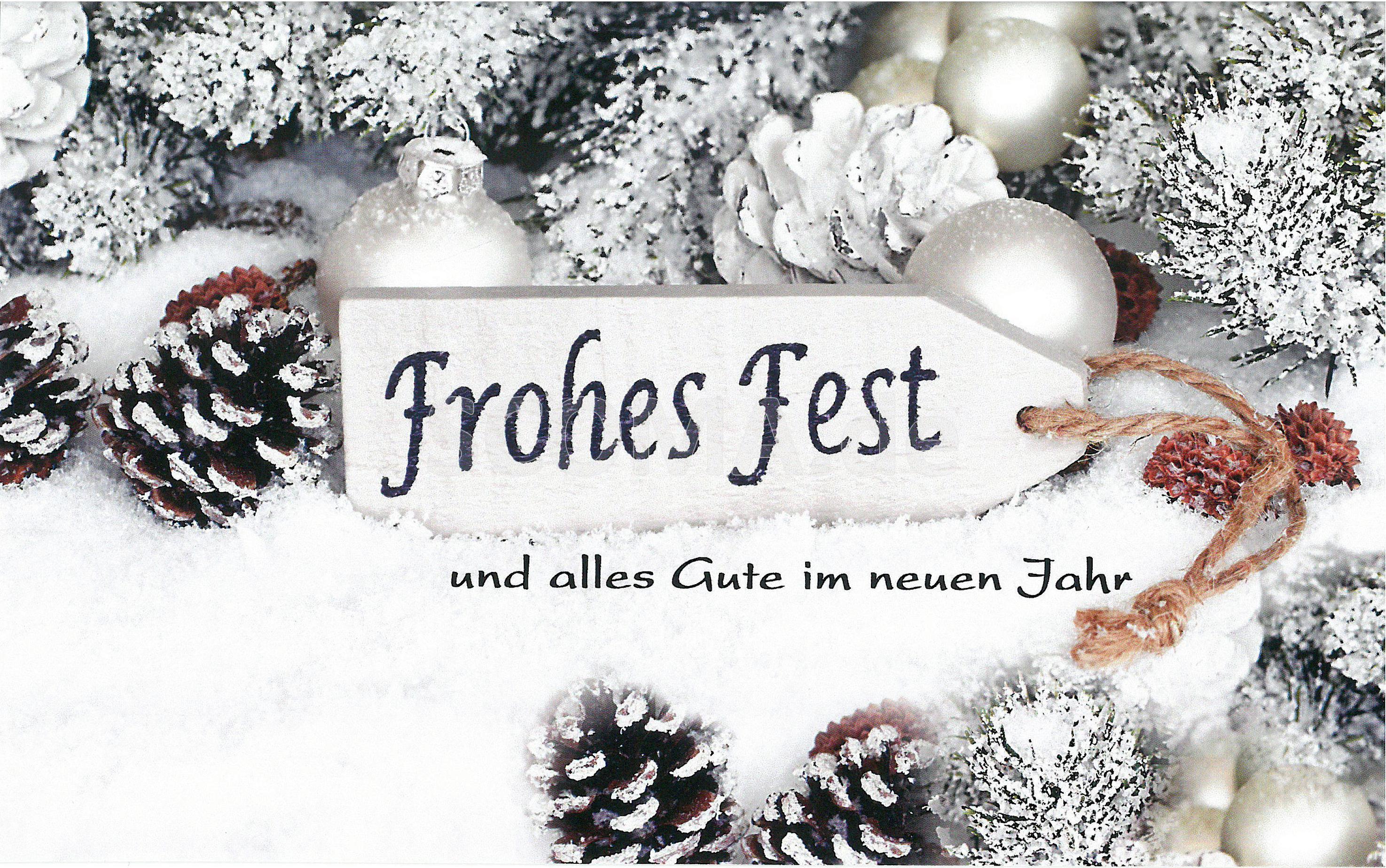 Geschenkkarte Weihnachten